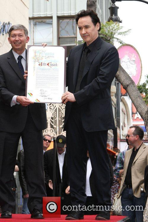John Cusack and Star On The Hollywood Walk Of Fame 2
