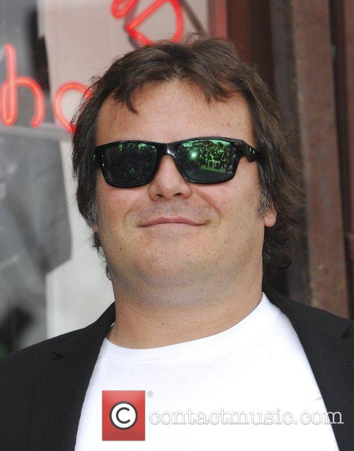 Jack Black and Star On The Hollywood Walk Of Fame 1