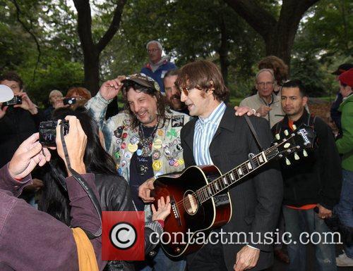 John Lennon and Tim Biancalana 1