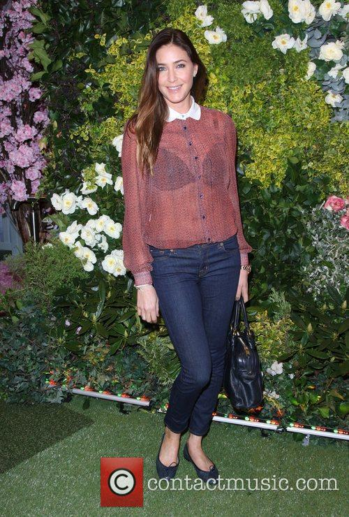 Lisa Snowdon John Lewis Beauty Hall Launch party...