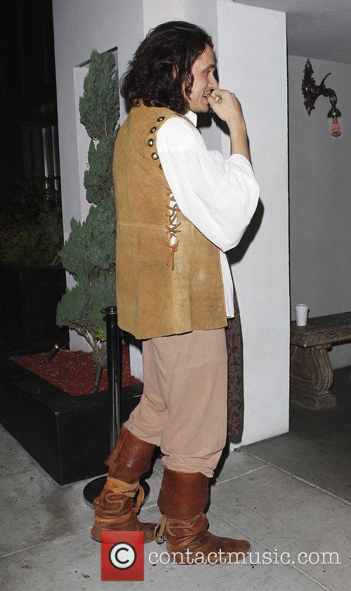 John Mayer outside Palihouse in West Hollywood wearing...
