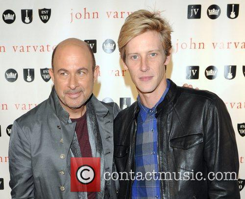 John Varvatos and Gabriel Mann 6