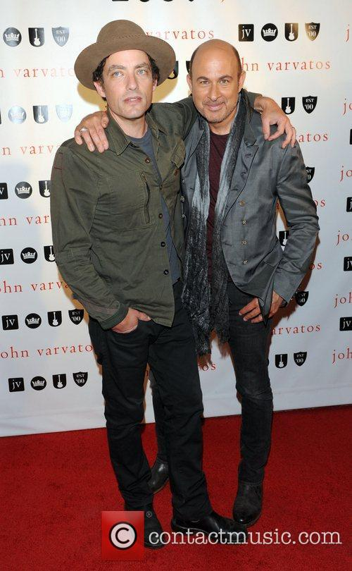 John Varvatos and Jakob Dylan John Varvatos West...