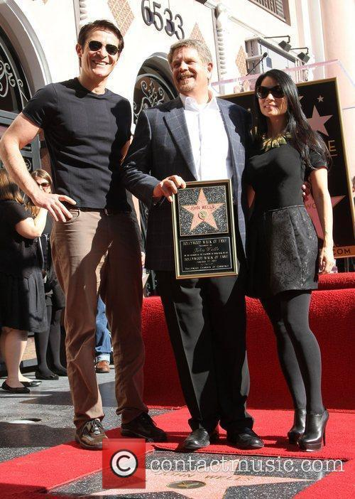 Goran Visnjic, John Wells, Lucy Liu and Walk Of Fame 2