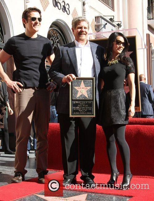 Goran Visnjic, John Wells, Lucy Liu and Walk Of Fame 3