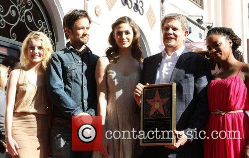 Laura Wiggins, Emmy Rossum, John Wells, Justin Chatwin and Walk Of Fame 4