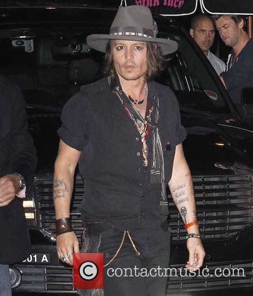 Johnny Depp and Pink Taco 3