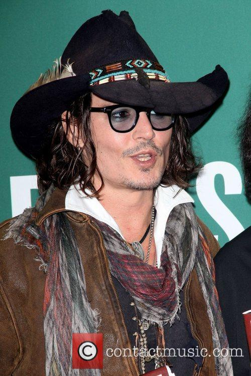 Johnny Depp, Damien Echols In Conversation, With Johnny Depp, Barnes and Noble Union Square 3