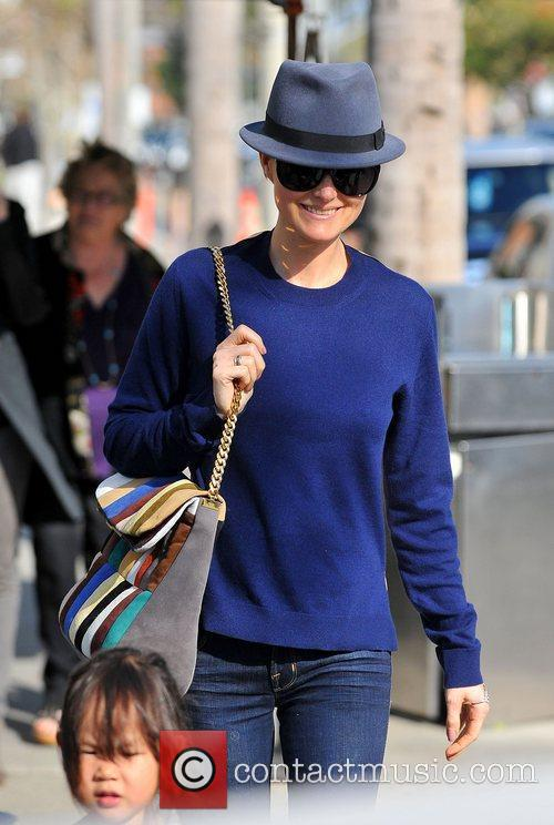 Laeticia Hallyday,  out and about in Brentwood....