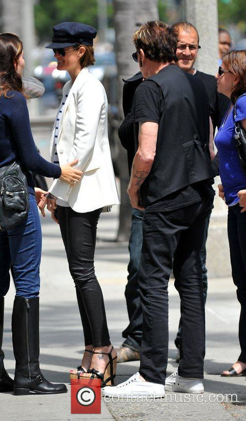 johnny hallyday and his wife laetitia leaving 3865023