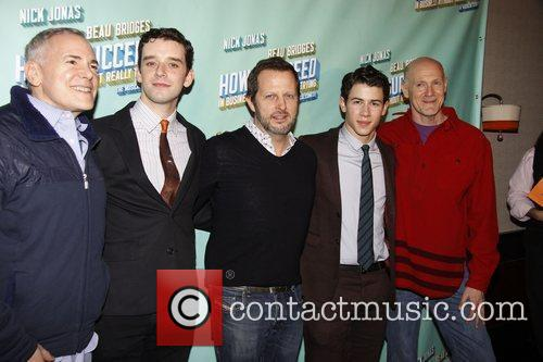Craig Zadan, Michael Urie, Nick Jonas and Rob Ashford 2