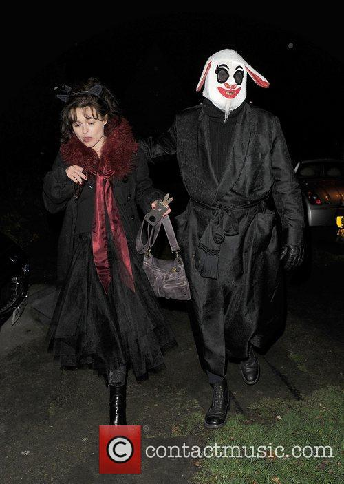 Helena Bonham-carter, Tim Burton, Halloween and Jonathan Ross 1