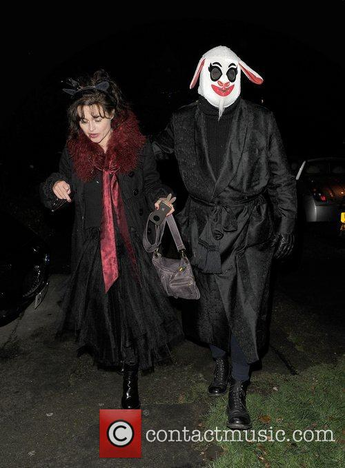 Helena Bonham-carter, Tim Burton, Halloween and Jonathan Ross 5