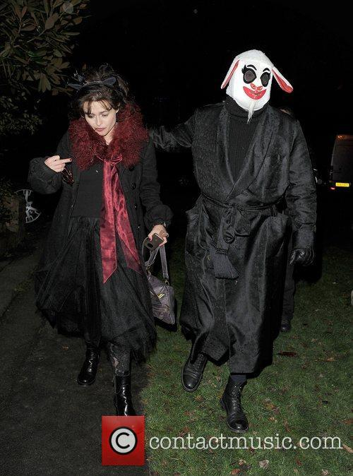 Helena Bonham-carter, Tim Burton, Halloween and Jonathan Ross 3