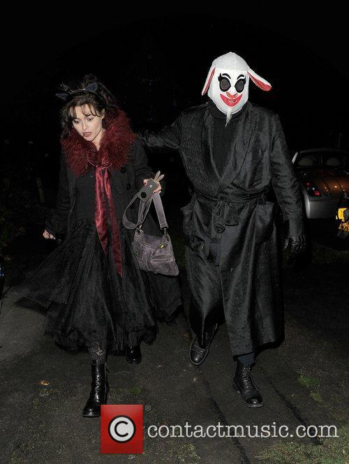 Helena Bonham-carter, Tim Burton, Halloween and Jonathan Ross 6