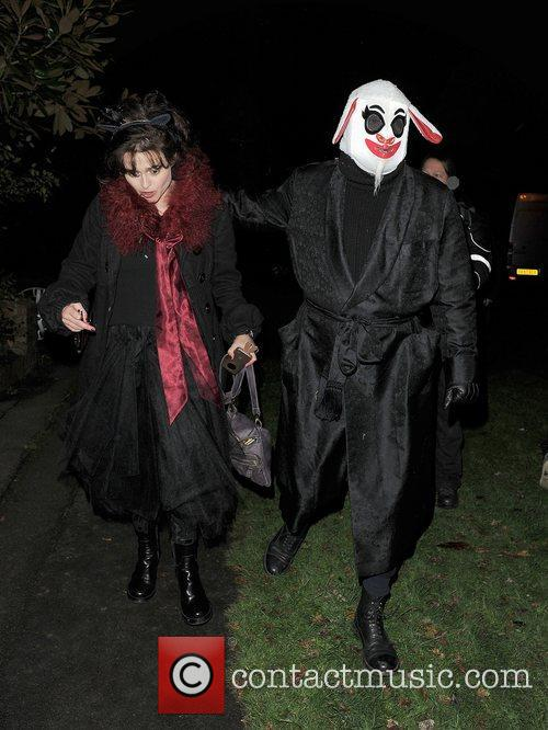 Helena Bonham-carter, Tim Burton, Halloween and Jonathan Ross 4