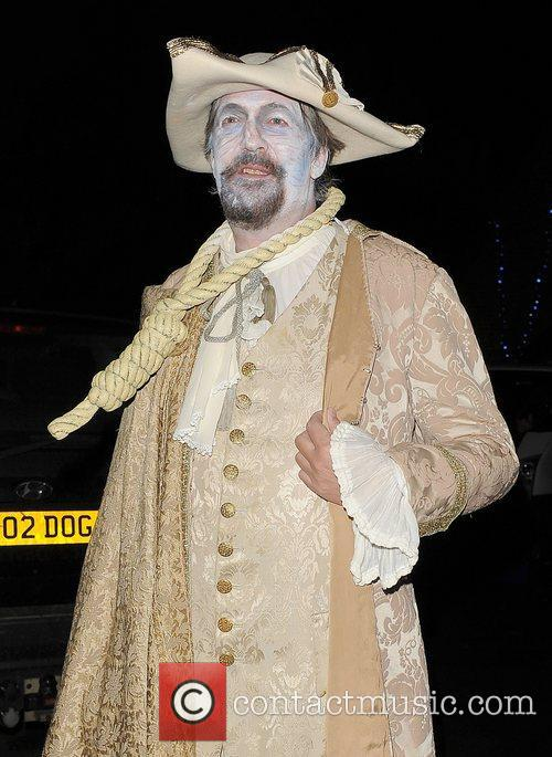 stephen fry leaving a halloween party held 4154854