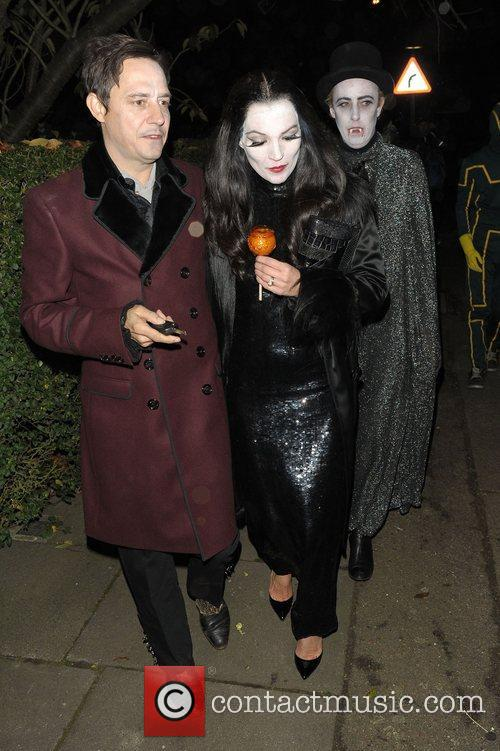 Kate Moss And Jamie Hince Halloween Outfit