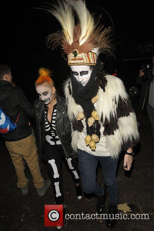 Nick Grimshaw's Halloween Outfit
