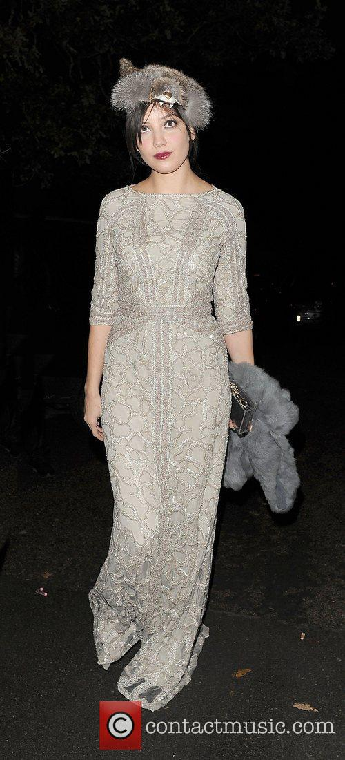 daisy lowe leaving a halloween party held 4154904