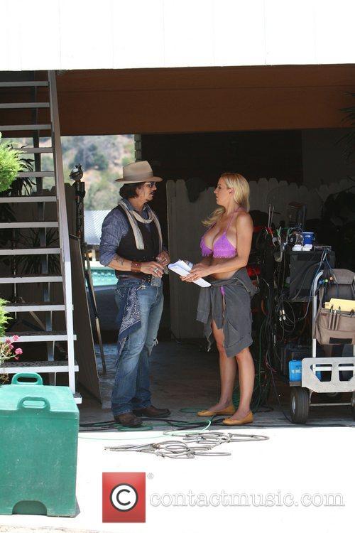 Jordan Carver, Johnny Depp