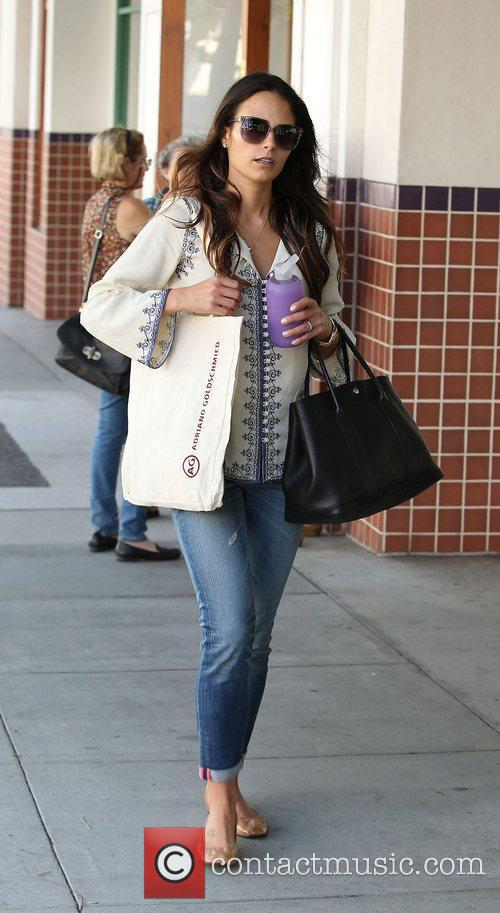 Jordana Brewster out and about in Beverly Hills...