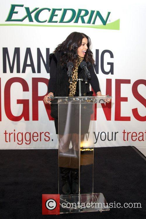 Jordin Sparks, Excedrin Migraine, Managing Migraines, Know Your Triggers. Know, Your Treatment and Herald Square 17