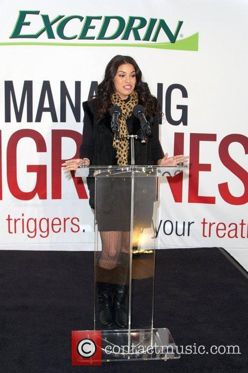 Jordin Sparks, Excedrin Migraine, Managing Migraines, Know Your Triggers. Know, Your Treatment and Herald Square 40