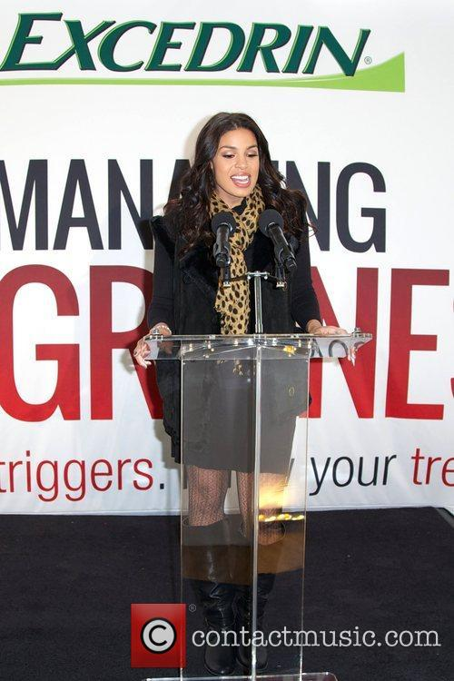 Jordin Sparks, Excedrin Migraine, Managing Migraines, Know Your Triggers. Know, Your Treatment and Herald Square 16