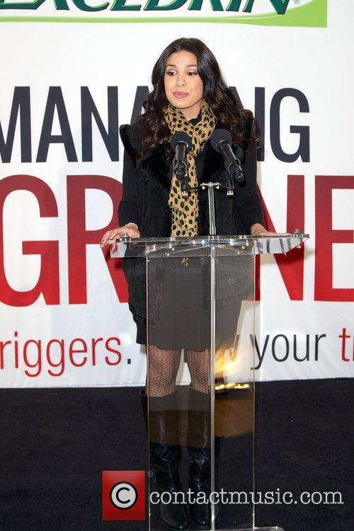 Jordin Sparks, Excedrin Migraine, Managing Migraines, Know Your Triggers. Know, Your Treatment and Herald Square 2