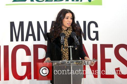Jordin Sparks, Excedrin Migraine, Managing Migraines, Know Your Triggers. Know, Your Treatment and Herald Square 8