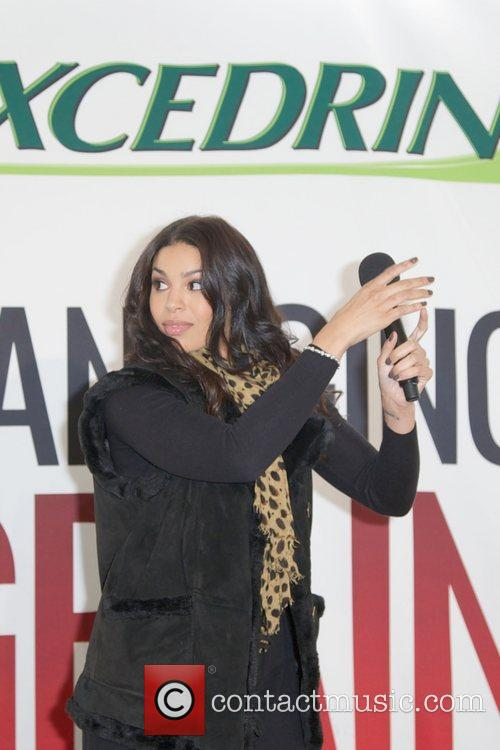 Jordin Sparks, Excedrin Migraine, Managing Migraines, Know Your Triggers. Know, Your Treatment and Herald Square 33