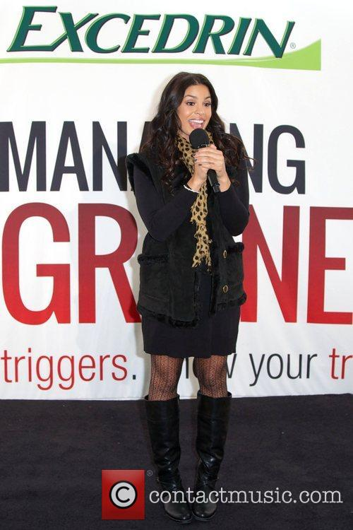 Jordin Sparks, Excedrin Migraine, Managing Migraines, Know Your Triggers. Know, Your Treatment and Herald Square 15
