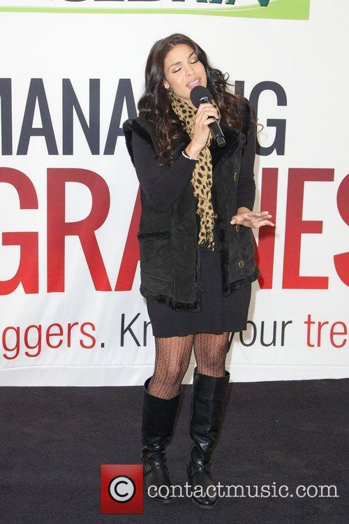 Jordin Sparks, Excedrin Migraine, Managing Migraines, Know Your Triggers. Know, Your Treatment and Herald Square 20