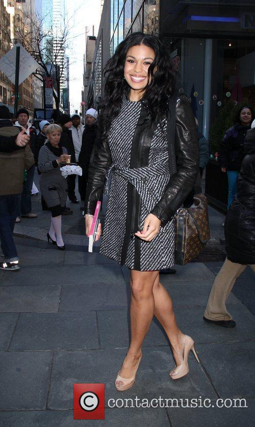 Jordin Sparks at NBC Studios to co-host the...