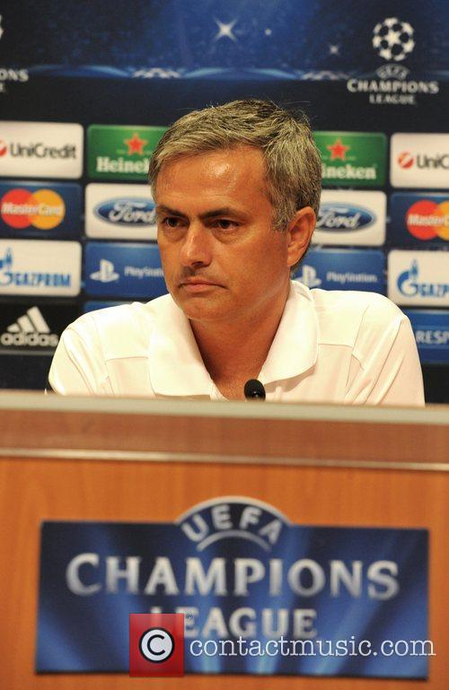 At a Champions League press conference ahead of...