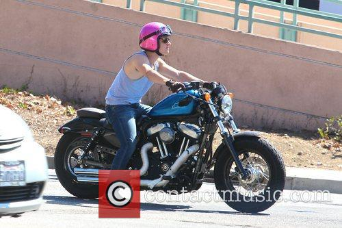 Josh Hutcherson and Beverly Hills 1