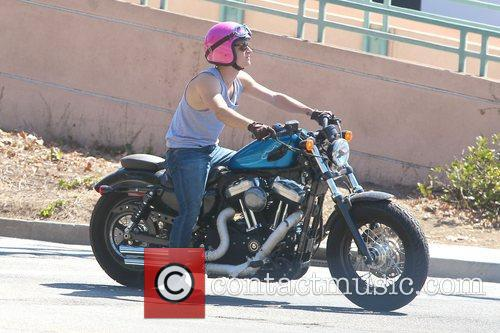 Josh Hutcherson and Beverly Hills 6