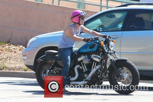 Josh Hutcherson and Beverly Hills 5