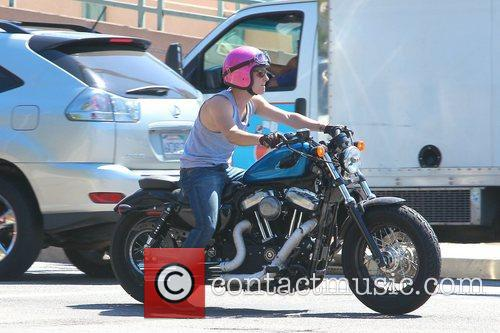 Josh Hutcherson and Beverly Hills 4