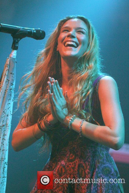 Joss Stone performs live at the Paradiso