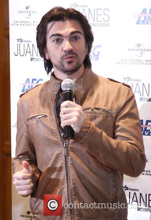 Columbian singer Juanes is honored in a special...