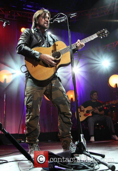 Juanes performing live at the Roseland Ballroom New...