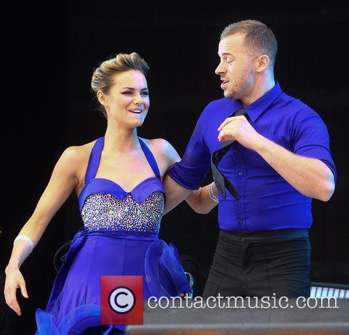 Artem Chigvintsev and Kara Tointon 2