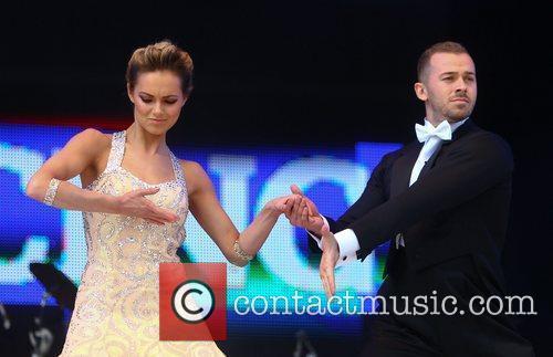 Artem Chigvintsev and Kara Tointon 7