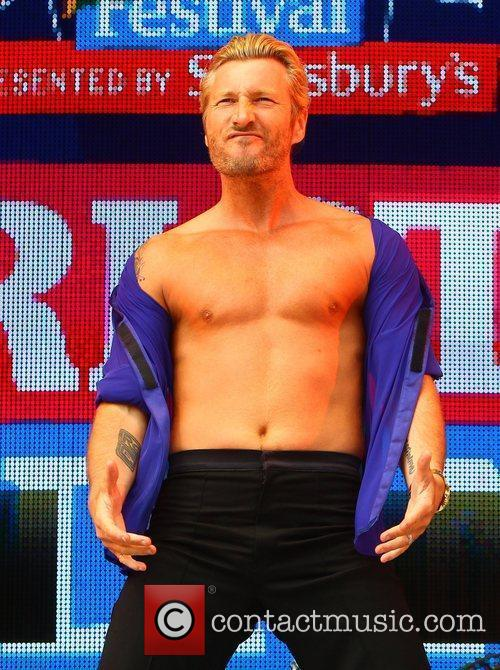 Robbie Savage  Jubilee Family Festival at Hyde...