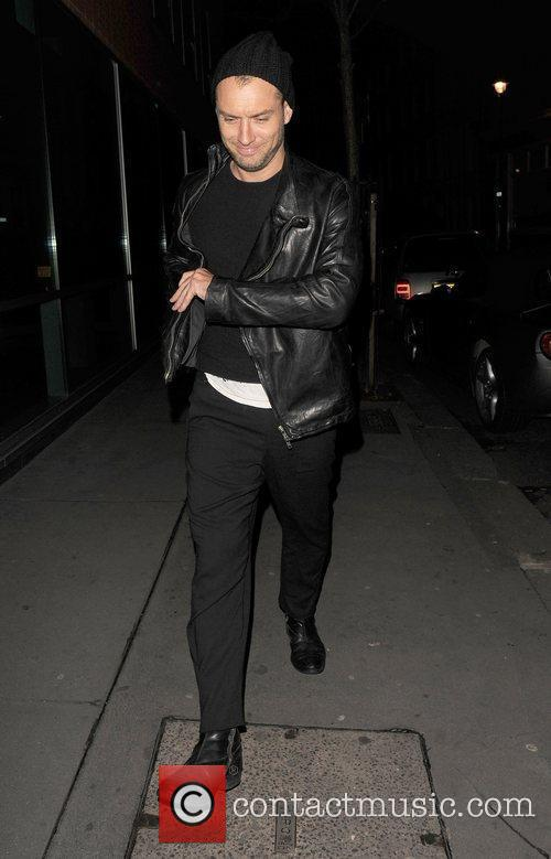 Is spotted out in Soho late at night...