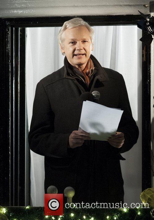 Julian Assange, Equadorian Embassy