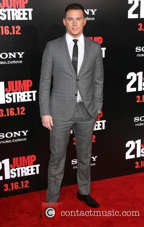 Channing Tatum Los Angeles Premiere of '21 Jump...