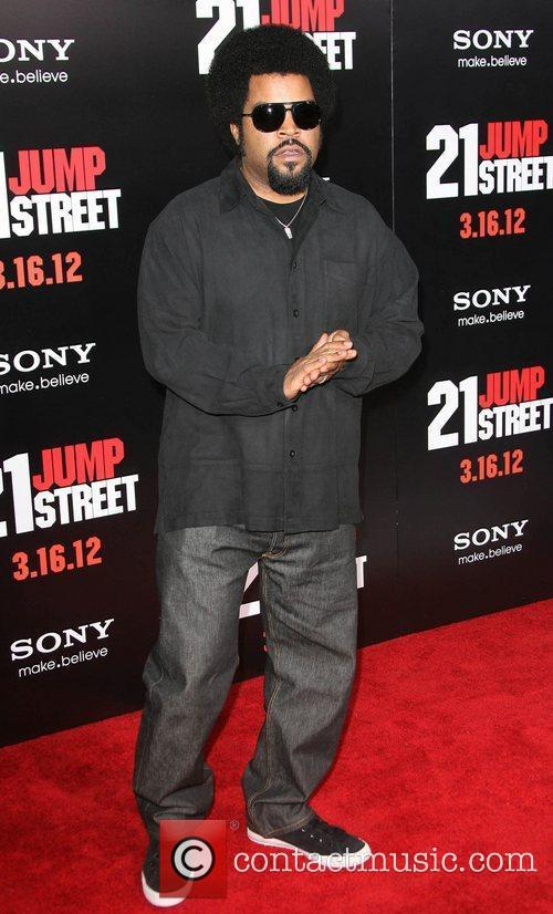 Ice Cube Los Angeles Premiere of '21 Jump...